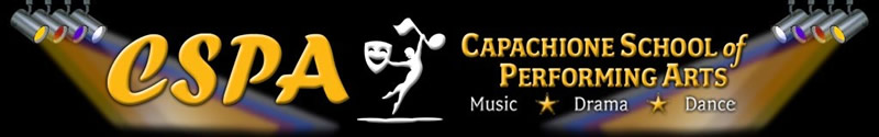Capachione School of Performing Arts Logo